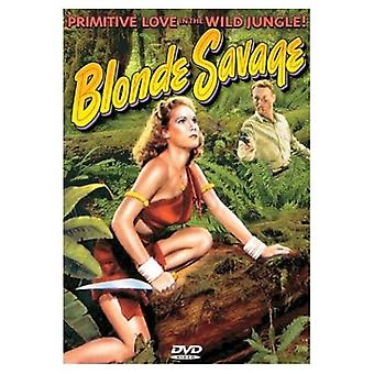 Blonde Savage [DVD] USA import