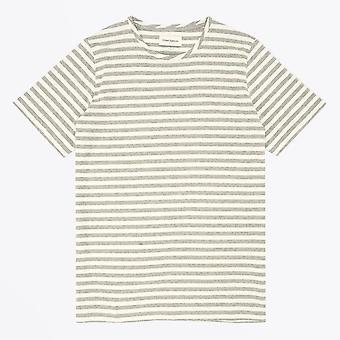 Oliver Spencer - T-shirt Conduit Stripe - Gris