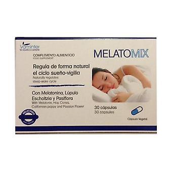 Melatomix Melatonin (Hops + Passionflower + Escholtzia) 30 capsules