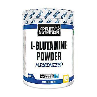 L-الجلوتامين بودرة، ميكرونized 500 غرام
