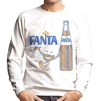 Moletom de Fanta 1970 retro Bottle Men ' s
