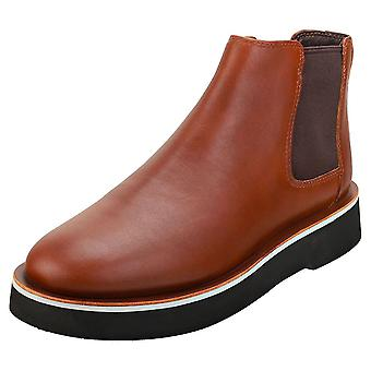 Camper Tyra Womens Chelsea Boots in Brown