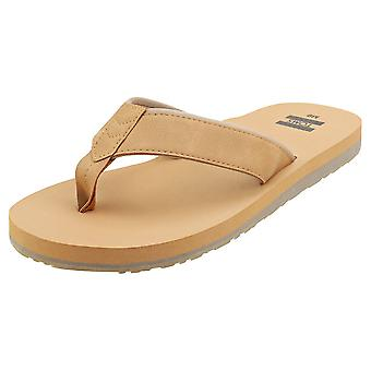 Toms Carilo Mens Beach Sandals in Toffee
