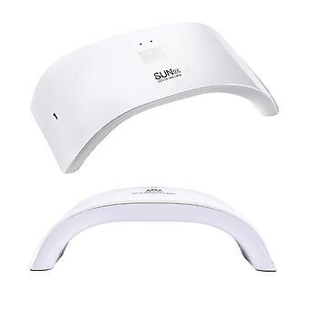 24W UV LED spiker lampe gel neglelakk tørketrommel UV lys rask herding auto sensor
