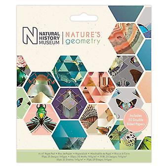 Papermania Nature's Geometry 6x6 Inch Paper Pad