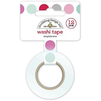 Doodlebug Design Delightful Dots Washi Tape