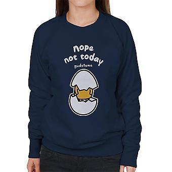 Gudetama Nope niet vandaag Women's Sweatshirt