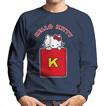 Hello Kitty Gul K Mænd's Sweatshirt