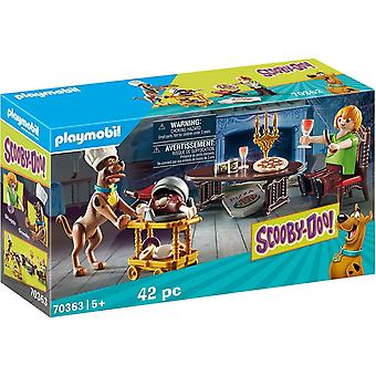 Playmobil 70363 Scooby Doo! Dinner with Scooby and Shaggy