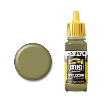 मिग एक्रिलिक पेंट द्वारा बारूद - ए. एमआईजी-0934 रूसी हाई लाइट (17 मिलीलीटर)