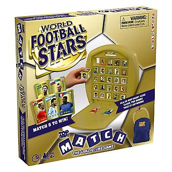 World Football Stars Top Trumps Match - The Crazy Cube Game