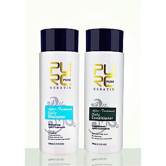 Shampoo And Conditioner Hair Care Professional Use For Hair Treatment Make Hair Smoothing And Shine