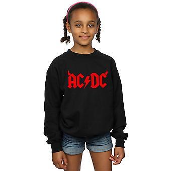 AC / DC Girls Coarne Logo Sweatshirt