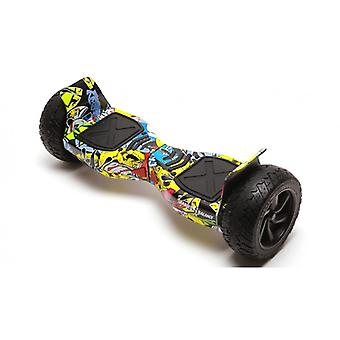 Hoverboard 8,5 inch, Smart Balance™ Hummer Hiphop, Motor 700 Wat, 36v 4ah, Bluetooth, Led