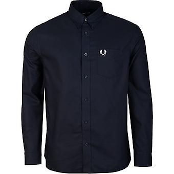 Fred Perry Authentics Long Sleeved Oxford Shirt