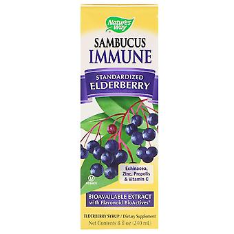 Nature's Way, Sambucus Immune, Elderberry, Standardized, 8 fl oz (240 ml)