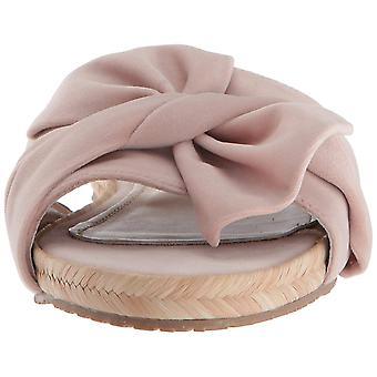 KAANAS Women's Sausalito Bow Slide Espadrille Sandal