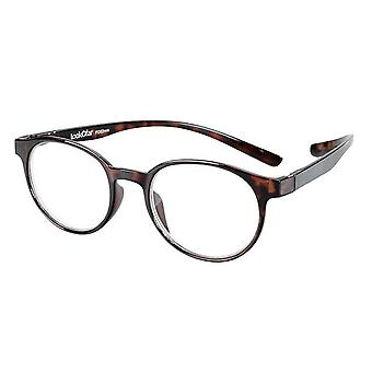 Reading Glasses Unisex Le-0190B Miami Brown Strength +1.00