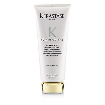 Elixir ultime le fondant beautifying oil infused conditioner (fine to normal dull hair) 233698 200ml/6.8oz