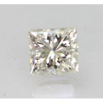 Sertifioitu 0,98 karat G VS2 Princess Enhanced Natural Diamond 5.37x5.14mm 2EX
