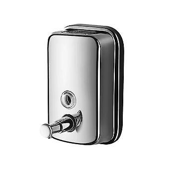 Stainless Steel Manual Soap Dispenser 800ml Capacity