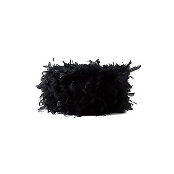 Feather Shade Black 250mm x 180mm