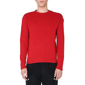 Palm Angels Pmhe027f20kni0012501 Homme-apos;s Red Wool Sweater