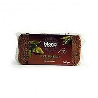 Biona - Org täysjyvä hamppu ruisleipää 500g