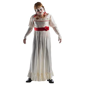 Mens Annabelle Doll Halloween The Conjuring Film Fancy Dress Costume