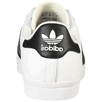 adidas Originals Menn's Coast Star Sneaker, Hvit/Svart/Hvit, 4.5