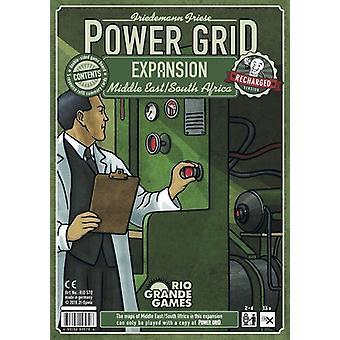 Power Grid The Middle East/ South Africa Expansion Pack