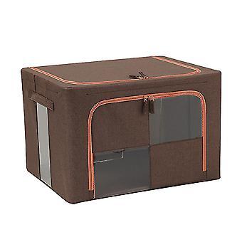 YANGFAN Stackable See-Through Window Storage Organizer Box