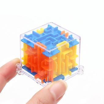 4x4x4cm 3d Puzzle, Fun Brain  - Hand Game Case Box, Educational For  (4x4x4cm)