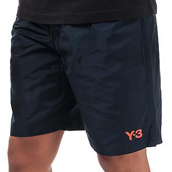 Shorts de bain Y-3 Classic Logo en bleu