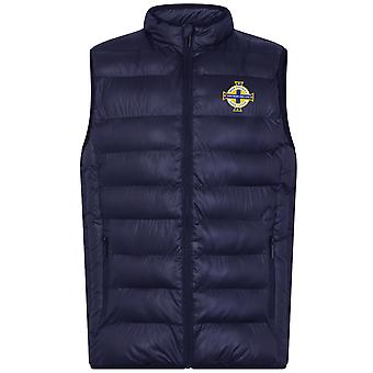 Northern Ireland Mens Gilet Jacket Body Warmer Padded OFFICIAL Football Gift