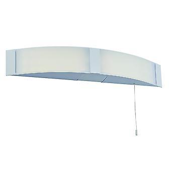 Saxby Onan - Rasoir mur de salle de bains IP44 6W Acrylique blanc