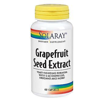 Solaray Grapefruit Seed Extract, 60 Caps