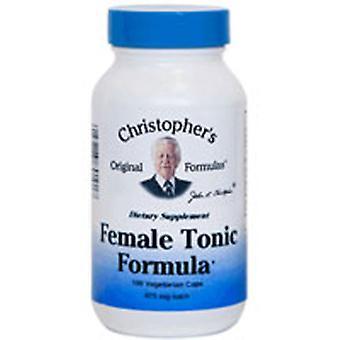 Dr. Christophers Formulas Female Tonic Formula, 100 Vegicaps