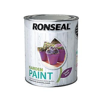 Ronseal Garden Paint Purple Berry 750ml RSLGPPB750
