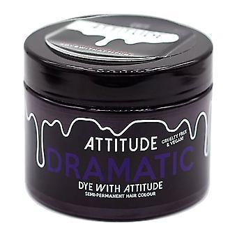 Attitude Semi Permanent Cruelty-free & Vegan Hair Dye - Dramatic Purple 135ml