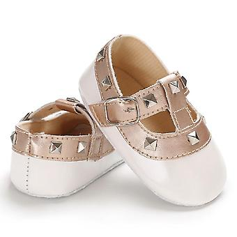 New Fashion Baby Princess Pu Leather Soft Sole Shoes