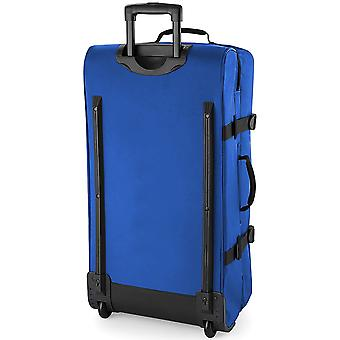 BagBase Escape doble capa amplia cabina Wheelie viaje bolso/maleta (95 litros)