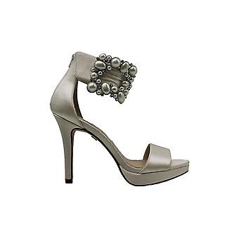 Nina Womens Adonia-Ys Open Toe Ankle Strap Classic Pumps