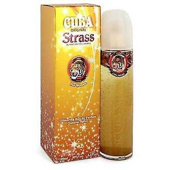 Cuba Strass Tiger Par Fragluxe Eau De Parfum Spray 3,4 Oz (femmes) V728-550457