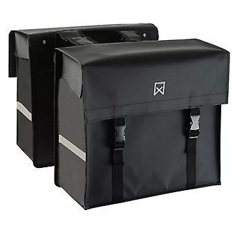 Willex Bicycle Bags Tarpaulin 40 L Matte Black