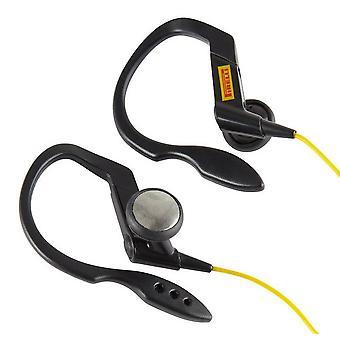 Pirelli Ear Clip Sports Headphone Black / Yellow