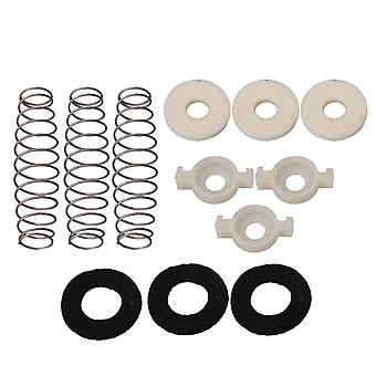 Trumpet Piston Valve Spring & Felt Washer & Valve Guides Replacement Kit
