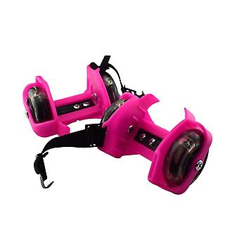 Flashing Pulley Adjustable Whirlwind Flash Wheels Heel Adjustable Skating Shoes