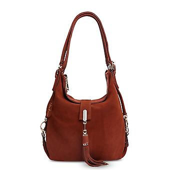 Women Real Suede Leather Shoulder Bag, Female Leisure Nubuck Convertible