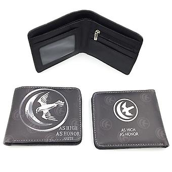 PU leather Coin Purse Cartoon anime wallet - Game of Thrones #344